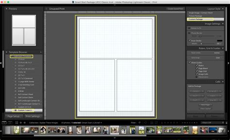 4 picture collage template how to make a collage in lightroom