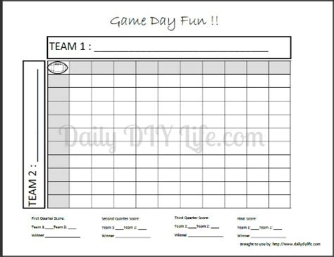 100 square football pool template common worksheets 187 hundred squares printable preschool