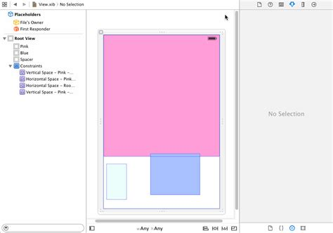 set top layout guide programmatically ios auto layout centering view in remaining space