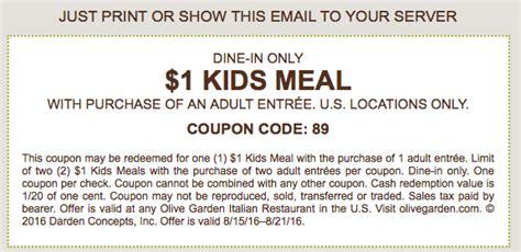 olive garden coupons aaa arizona families olive garden coupon 1 kids meal