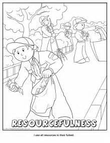 scout coloring pages printable coloring activity pages cub scout pack 16