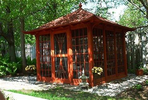 asian tea house japanese tea house plan craftsman style pinterest