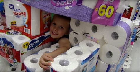 How To Make A Paper Fort - the toilet paper fort challenge