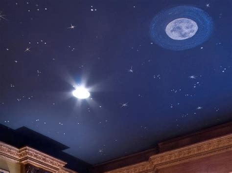 bedroom with stars as ceiling bedroom ceiling stars hgtv