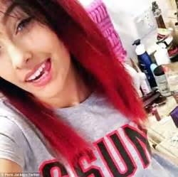 paris jackson with black hair paris jackson sparks hair envy as she emerges from the