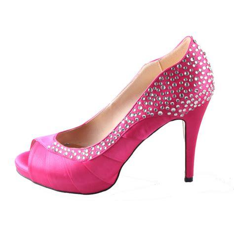 The Hotness Jeweled Heels by Pink Rhinestone Heels Www Imgkid The Image Kid Has It