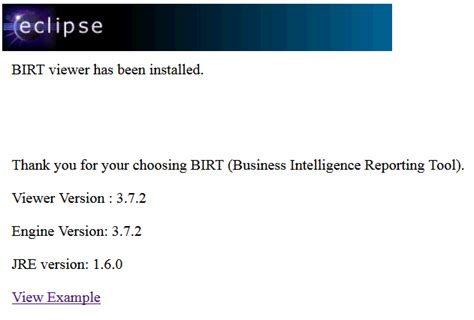 R Runtime State by Ibm How To Use A Script To Deploy The Birt Runtime Into