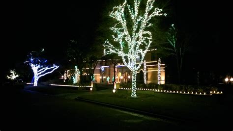 christmas light installations in dallas park cities