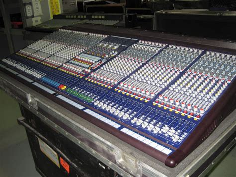midas console midas verona 480 48 channel analog mixing console used