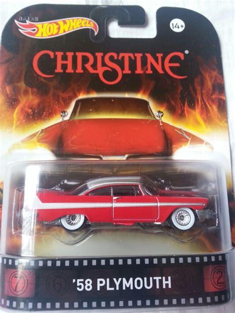 Wheels Hotwheels Retro Seri Christine 58 Plymouth wheels filme christine o carro assassino stephen king