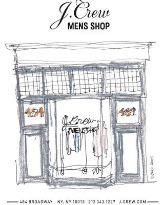 Theres A Interesting Article In Todays Wall by J Crew Aficionada At J Crew Mens Shop In Soho Of