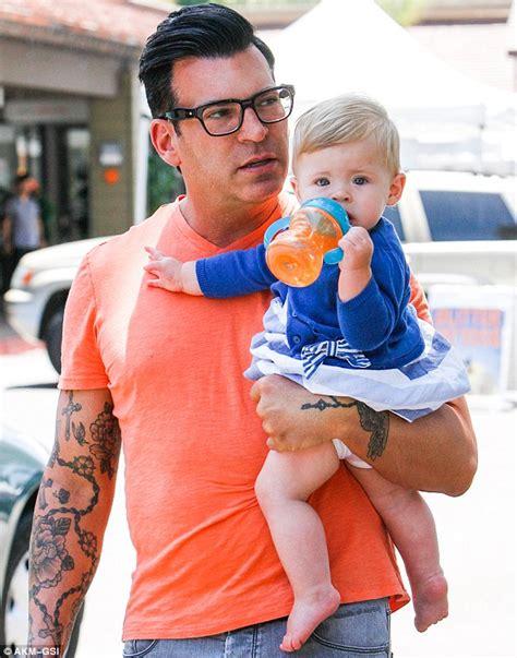 david tutera tattoos david tutera and estranged husband split custody of