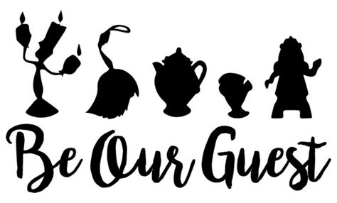 be our guest an country be our guest cutting file package svg jpg dxf files