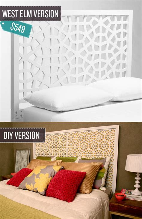 build a geometric cutout headboard you d never guess