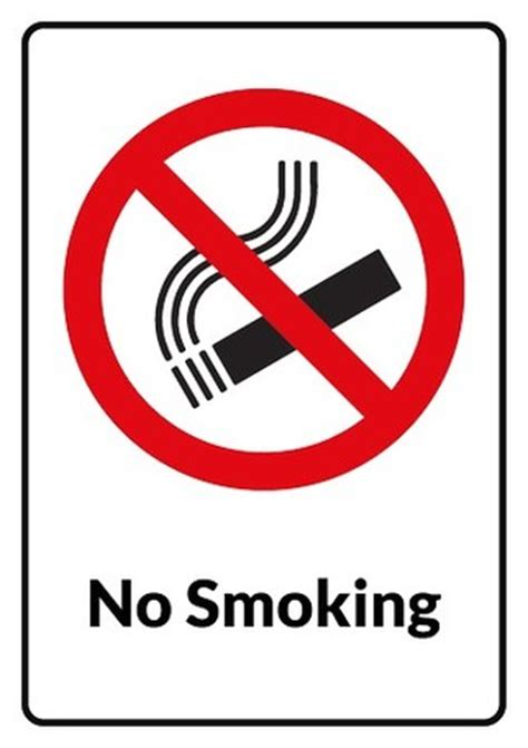 no smoking sign to download free no smoking sign template clipart best