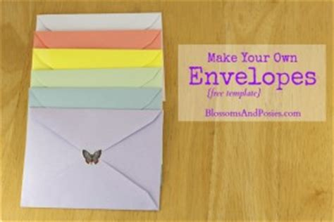 Make An Envelope From 8x11 Paper - make your own envelopes free template