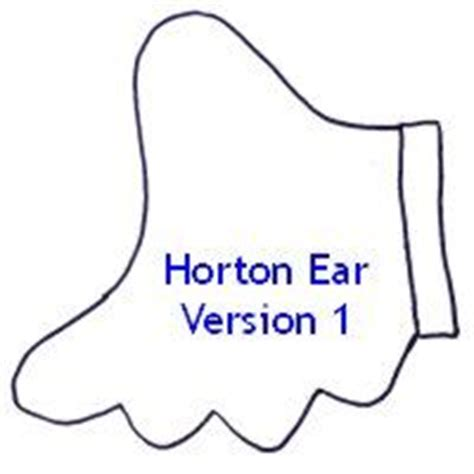 elephant ear template stoictia cat in the hat bow tie diy ideas