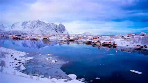 reine breathtaking fishing village  norway hd wallpaper backiee  ultra hd wallpaper
