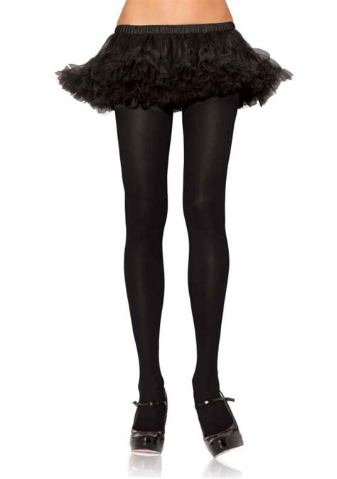 opaque colored tights leg avenue black opaque tights leg avenue