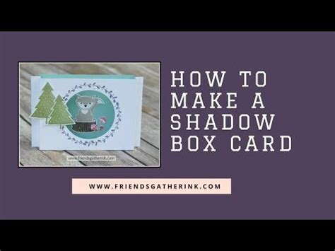 17 best images about cards shadow box cards frames on - How To Make A Shadow Box Card