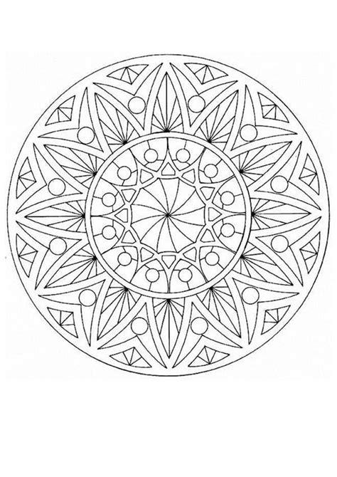 mandala coloring pages for experts mandalas for experts mandala 43