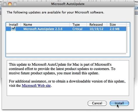 how to update office for mac 2011 howtech
