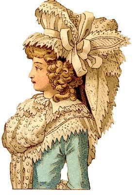 Vintage Images   French Costume Ladies   18th Century