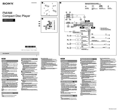 sony compact cd player wiring diagram free