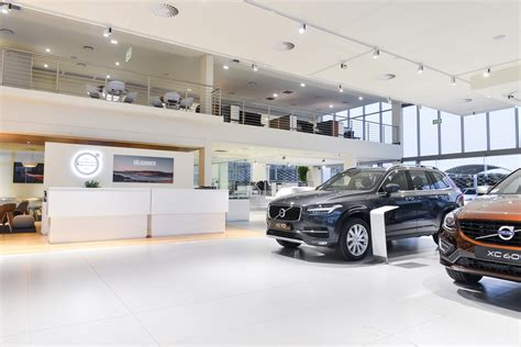 volvo car south africa opens  full vre dealership auto report africa