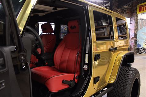 custom jeep interior custom quot shoe city quot jeep wrangler sport unlimited by no