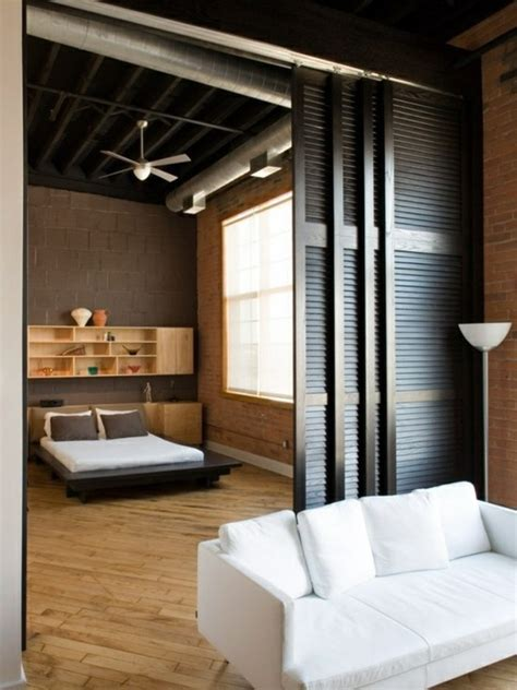Apartment Bedroom Doors Sliding Doors As Room Dividers More Privacy In The Small