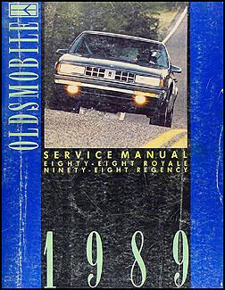 1989 Oldsmobile 88 Royale Ninety Eight Regency Repair