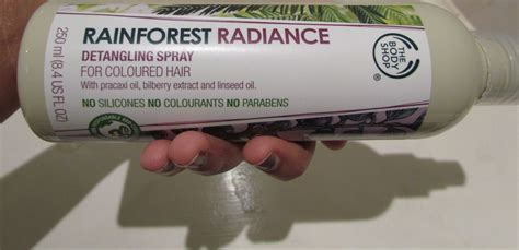 Rainforest Shoo after i bought this shop rainforest radiance