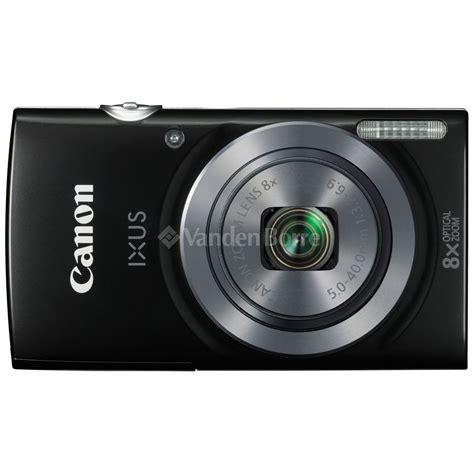 Kamera Canon Ixus 160 by Canon Ixus 160 Black Bij Vanden Borre Gemakkelijk