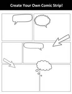 blank comic template blank create your own comic template by