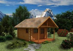 Small Log Cabin Blueprints small log house plans house plans