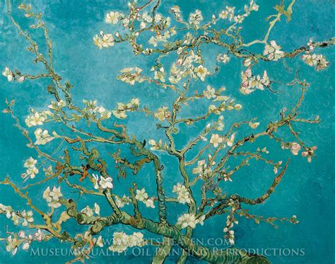 Yellow White Bedroom by Vincent Van Gogh Blossoming Almond Tree Van Gogh Almond