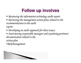audit follow up template steps in it audit