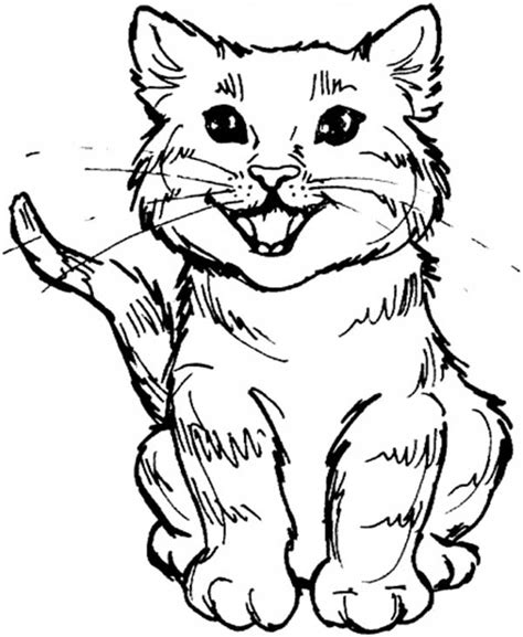 coloring pages of tabby cats cute cat printable coloring pages gianfreda 919724