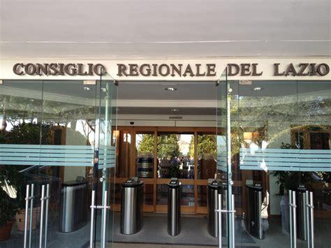 ufficio regionale lazio penalizzati i colleghi ufficio sta consiglio regionale