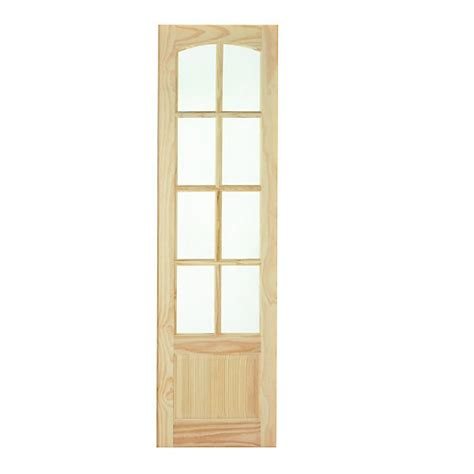 Wickes Newland Internal French Door Panel Clear Pine