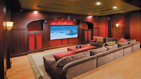 Small Home Theater Size Media Room Home Theater Room Design Home Theater