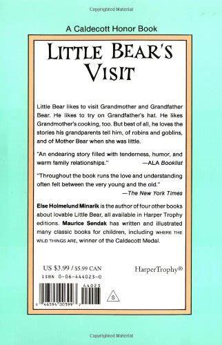 libro little bear libro little bear s visit di else holmelund minarik