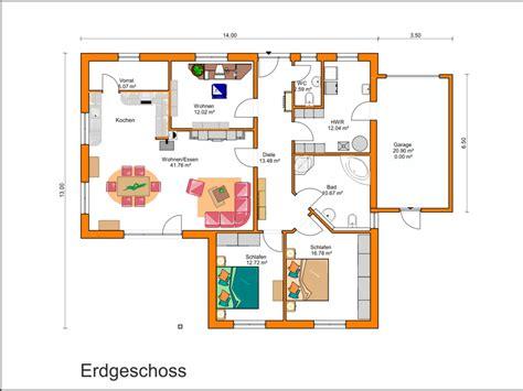 grundrisse mit zwei schlafzimmern bungalow mit garage grundriss die neuesten
