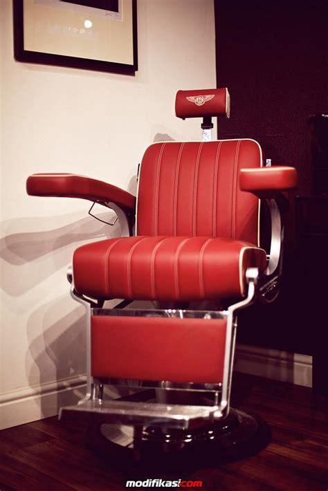 Kursi Buat Pangkas Rambut barber shop dengan kursi desain jok mobil bentley
