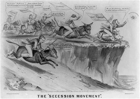political sectionalism cartoons civil war times