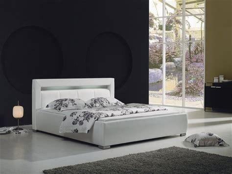 Modern White Bed Frames Groz Modern Leather Bed Frame White Modern Beds By Defysupply