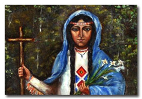 blessed kateri tekakwitha 07 14 of the mohawks a deacon s