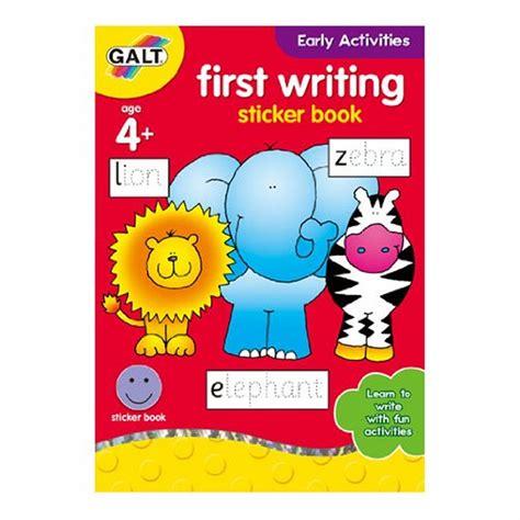 Writing Activity Book early activities writing book craftyarts co uk