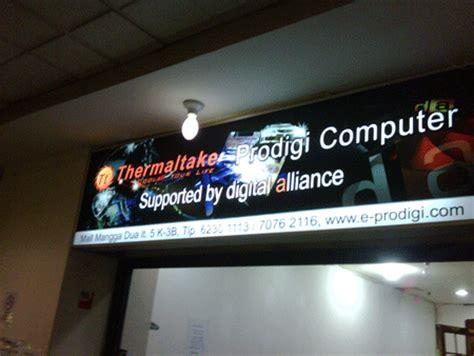 Lu Sorot Papan Reklame papan reklame neon box 1 jt per meter jasa pasang